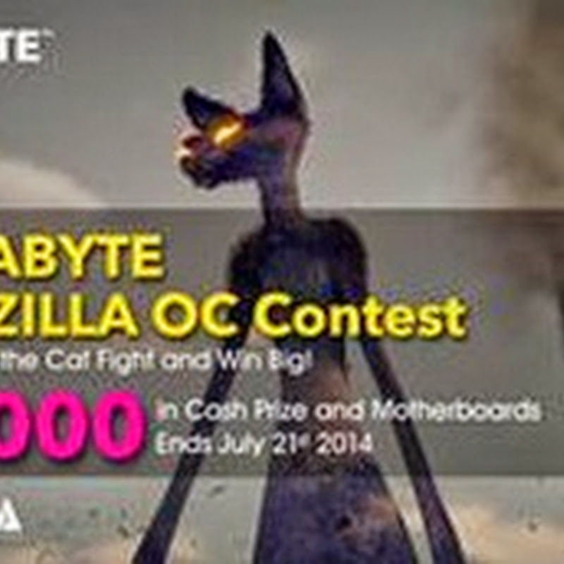 GIGABYTE CATZILLA OC Contest Winners