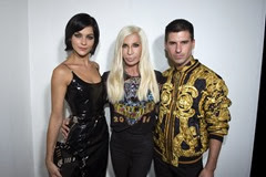 Leigh Lezark;Donatella Versace;Nicol Geordon