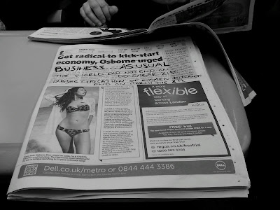 The world did not end on December 21st Objectification of women did not end on March the 8th