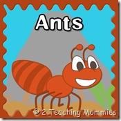 Ant PreK Printables