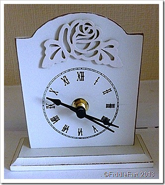 Poundland Clock Mothers Day Gift