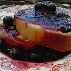 Yummy and Simple Blueberry Sauce (Goes With My Blueberry Scones!