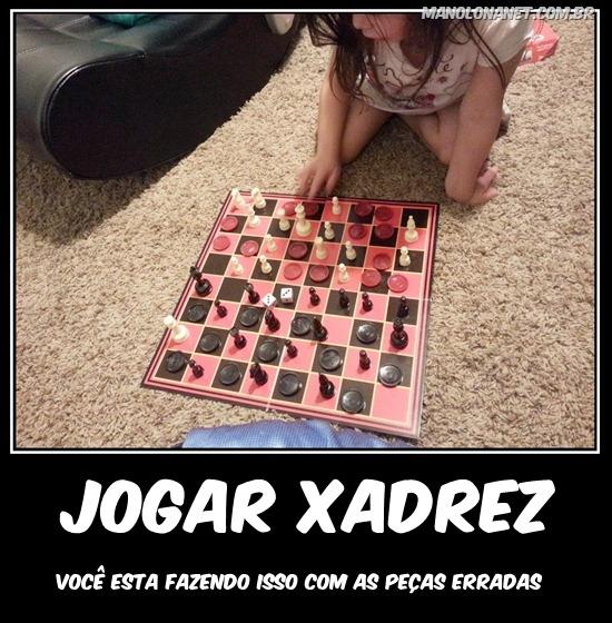 Como Jogar Xadrez e Dama ao Mesmo Tempo