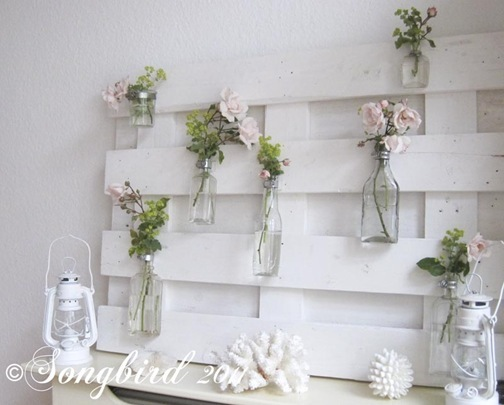 Summer Mantel with Roses 5