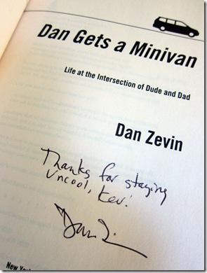 zevin-uncool-autograph
