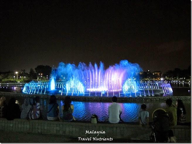 沙巴亞庇丹容亞路海灘夕陽 Perdana Park音樂水舞 (30)