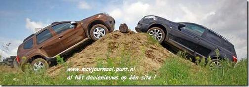 Dacia Duster vs Nissan Quashqai 01