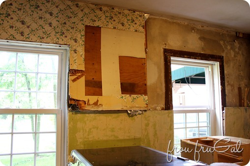 Kitchen Demo - Window Wall