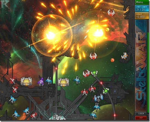 Enigmata Stellar War flash game image 03