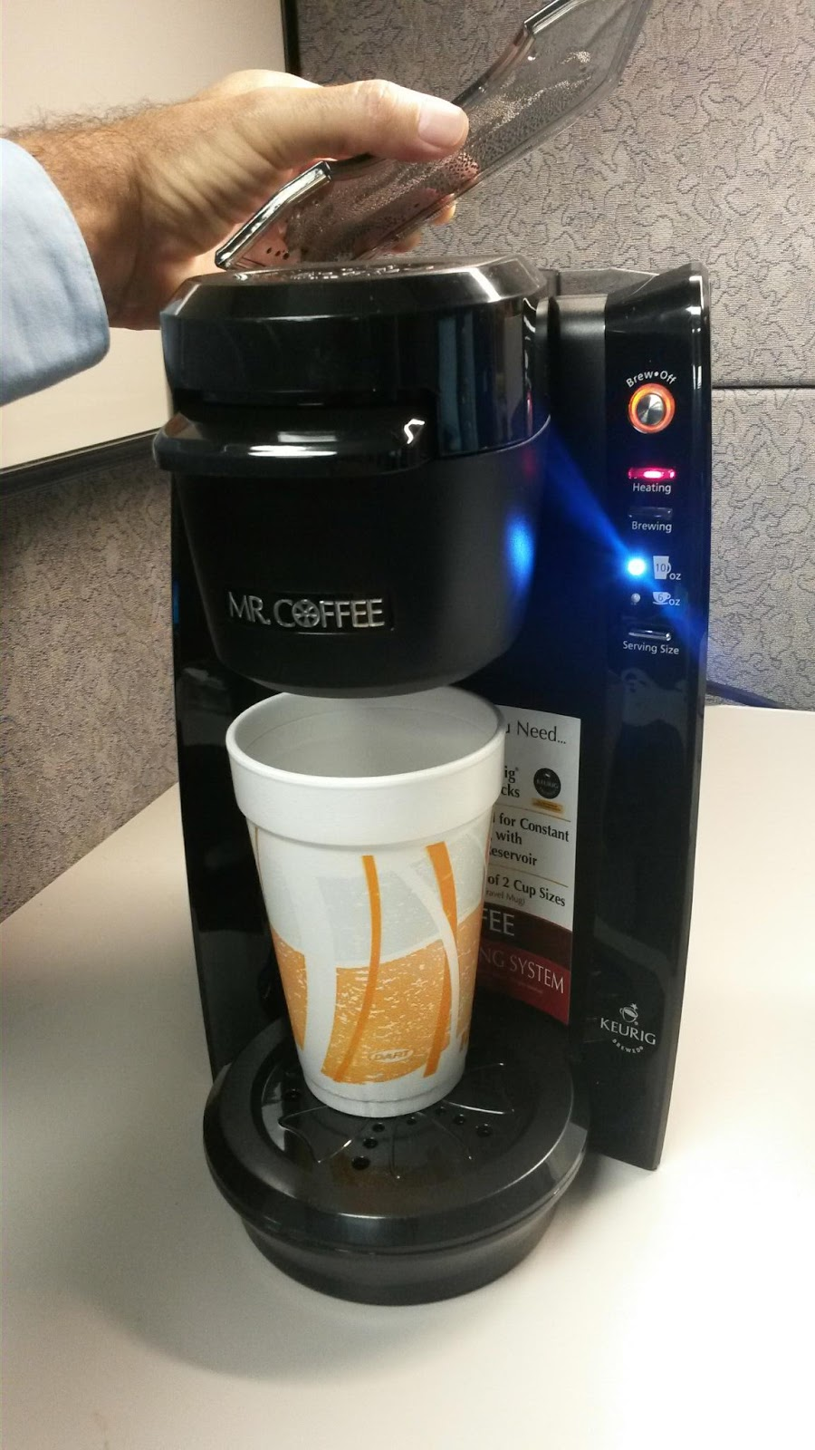 Mr Coffee Coffee Maker Smells Like Plastic : FloridaMTB: Plastic Taste in Mr Coffee Single Cup Keurig Coffee Maker