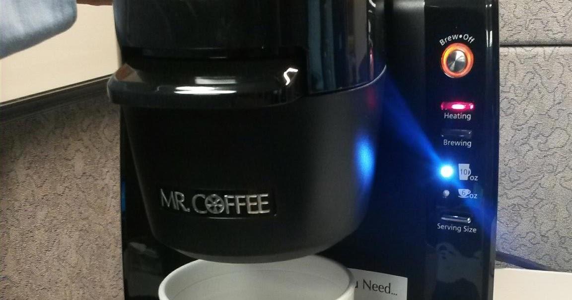 FloridaMTB: Plastic Taste in Mr Coffee Single Cup Keurig Coffee Maker