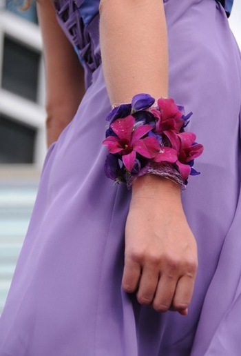 blomster armbond