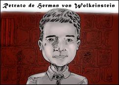 Retrato de Herman von Wolkeinstein cópia