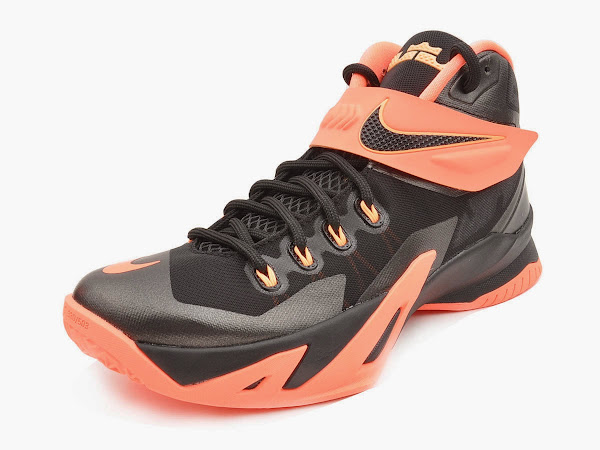 Upcoming Nike Zoom LeBron Soldier 8 8211 Bright Mango