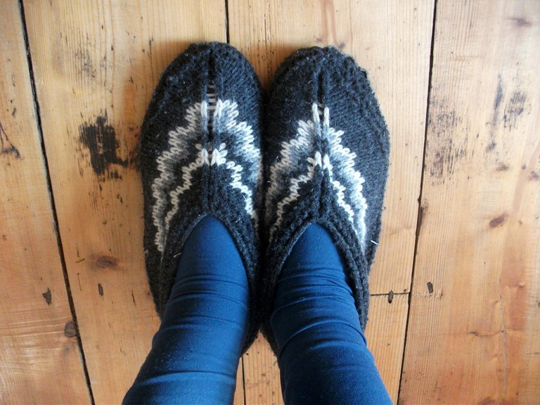 Knitted Slippers Blog Post