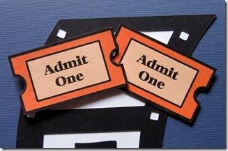 cricut movie ticket digital stamp