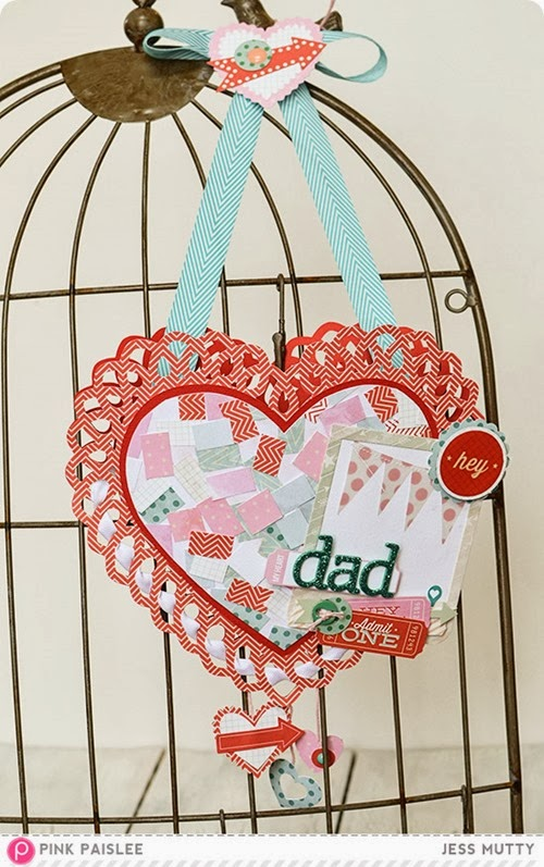 Hanging Heart Pouch_Jess Mutty_Pink Paislee