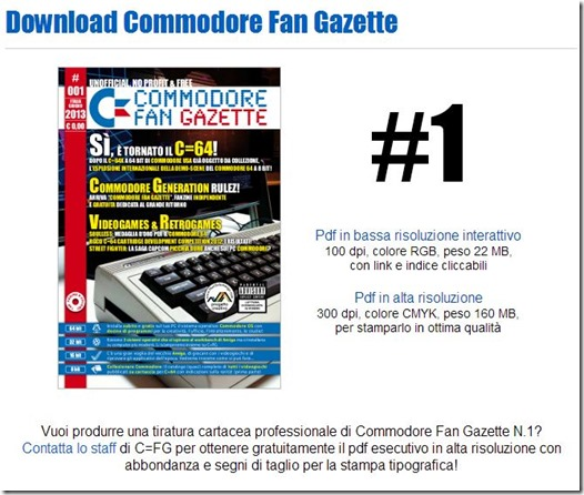 Commodore fan gazette