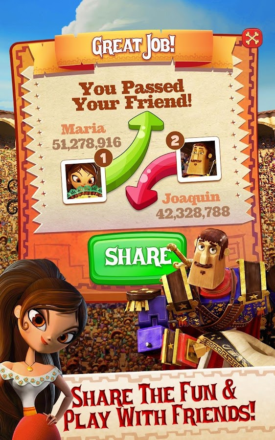 Sugar Smash: Book of Life - Free Match 3 Games Screenshot 9