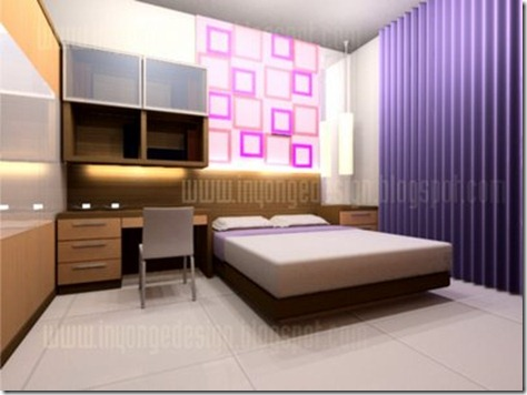 Bedroom Interior Design minimalist fresh
