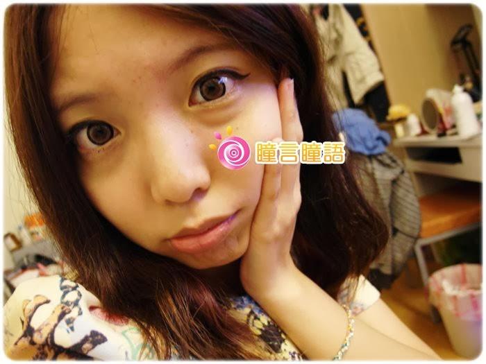 日本EOS隱形眼鏡-3D棒棒糖咖976
