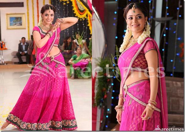Nisha_Agarwal_Pink_Half_Saree