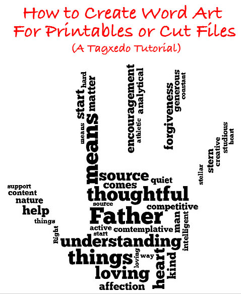 How To Create Word Art For Printables Or Cut Files Using