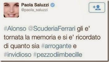 Tweet di Paola Saluzzi