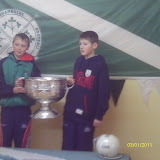 Andrew O Grady and Cormac Scriven, two of our under 13 players in 2011
