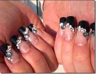 Decoracion de uñas elegantes