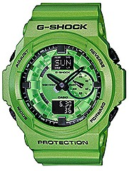 CASIO 2012 G-SHOCK GA-150A watches metallic orange, green, blue WATCHES FOR SPRING SUMMER SEASON water resistance Casio G-Factory stores