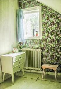 Barnkammare före ombyggnad. Foto: Erika Åberg