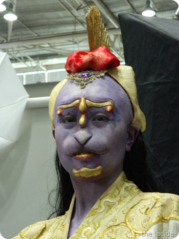 IMATS Sydney 2012 - Student Battle of the Brushes - Character Prosthetic - Justin Saint (2)