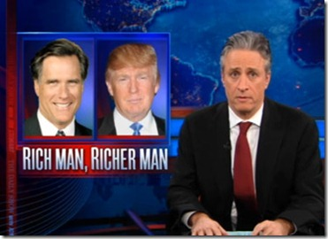 Daily Show Romney Trump