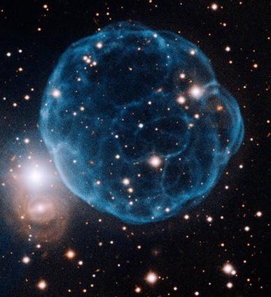 nebulosa planetária Kronberger 61