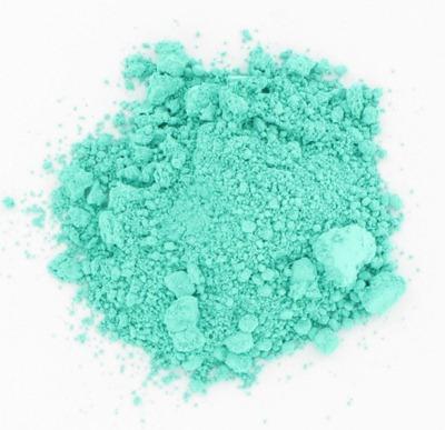 verftechnieken-pigment-zeegroen