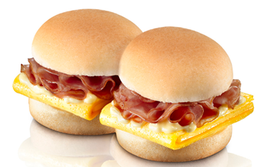Burger King Breakfast BK SHOTS™ Egg Benny