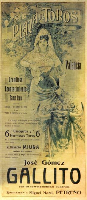 1915-10-17 Valencia Joselito 6 Miuras 001