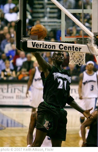 'Kevin Garnett' photo (c) 2007, Keith Allison - license: https://creativecommons.org/licenses/by-sa/2.0/