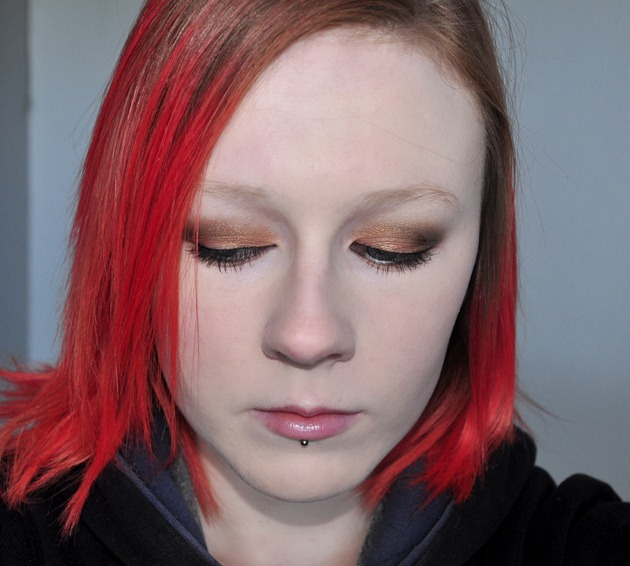 eye makeup geek beauty MUG eyeshadow FOTD