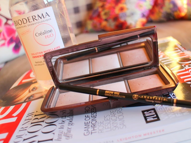Top3Beauty-Bioderma-H20, Hourglass-Ambient-Lighting-Palette, Anastasia-Brow-Wiz-Ash-Blonde