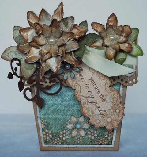 Flower pot card 3