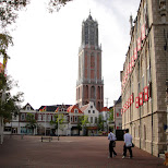dom tower at huis ten bosch in Sasebo, Nagasaki, Japan