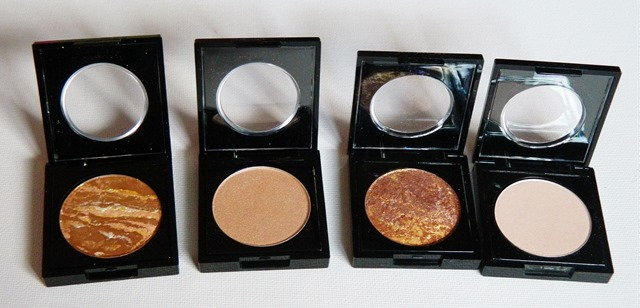 Fashionista eyeshadow swatches private fitting nude glamour radiant and sweet kiss