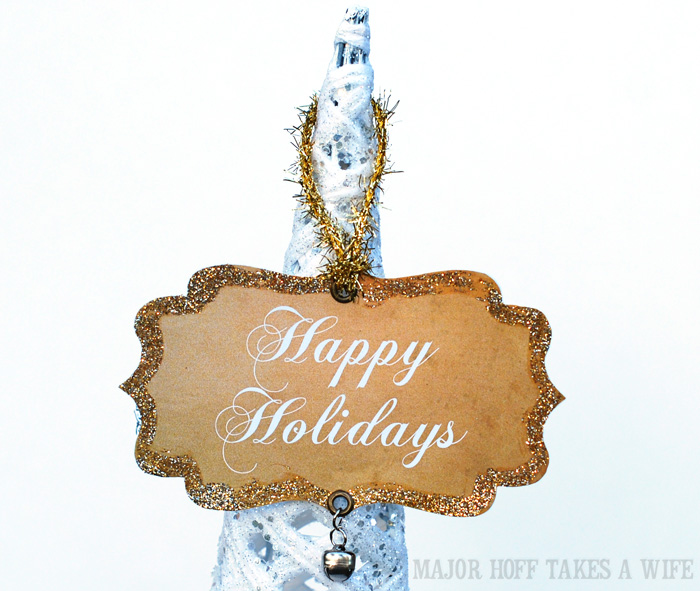 Handmade ornament ideas for Happy Holidays