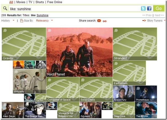 Jinni.com per trovare film simili