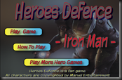 Iron Man - Hero Defence