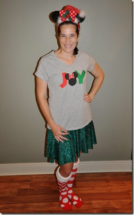 Mickeys Jingle Jungle 5K Costume
