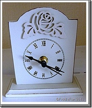 Poundland Altered Clock. 1