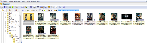 xnview Redimensionner et optimiser des images pour le web par lot